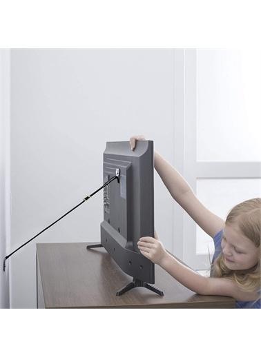 Miny Baby MB-753 Eşya Tv Sabitleme Deprem Güvenliği Kayışı-Metal Başlıklı Siyah